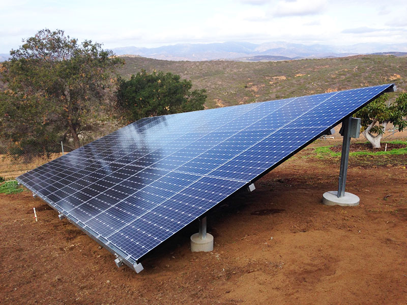 redlands solar power