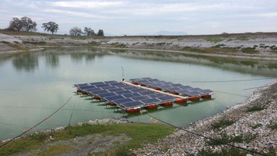 San Diego to Deploy First Floating Solar Panels in Socal