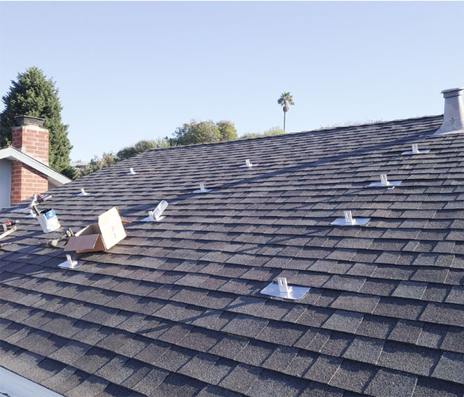 composite shingle solar san diego