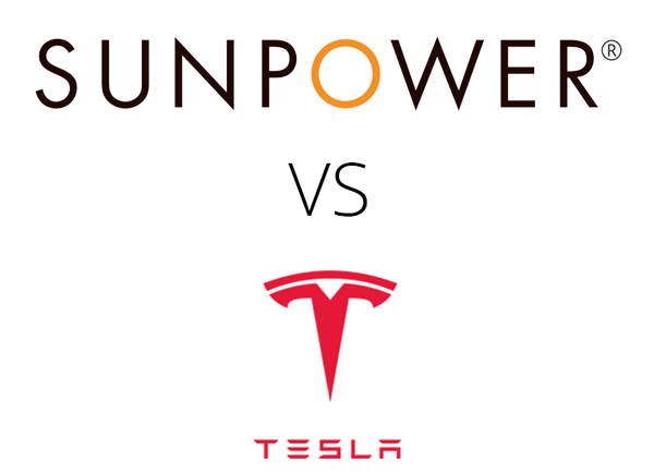 sunpower vs tesla solar