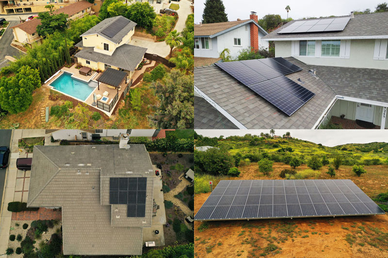 What is the Average Size of a Solar Installation in San Diego County? (Study)
