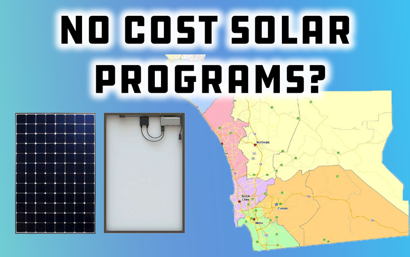 No Cost Solar Programs in San Diego: What You Should Know