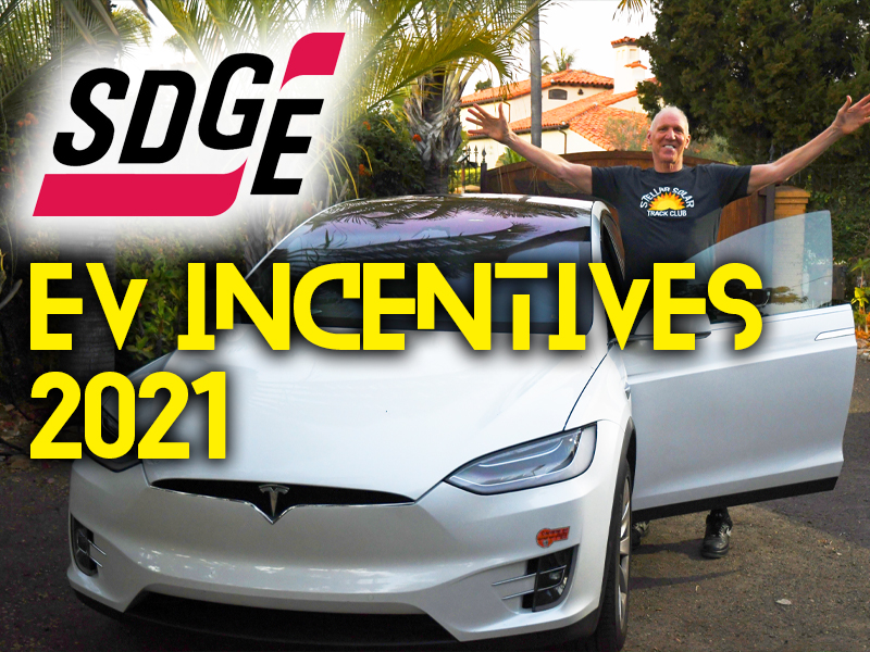 SDG&E Electric Vehicle Incentives and Rebates (2021)