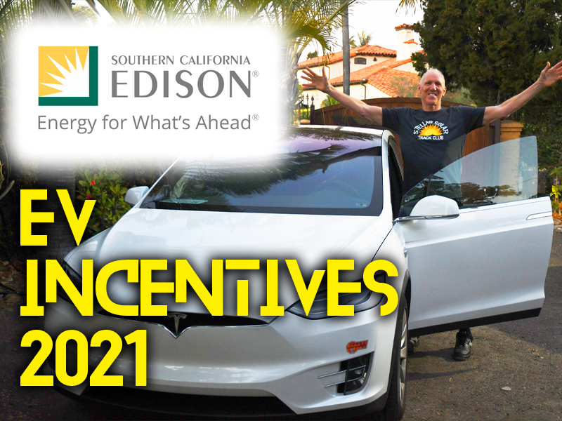 Southern California Edison (SCE) Electric Vehicle Incentives and Rebates in 2021